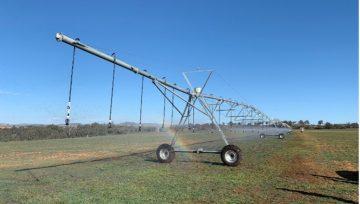 Win a complete centre pivot irrigator!